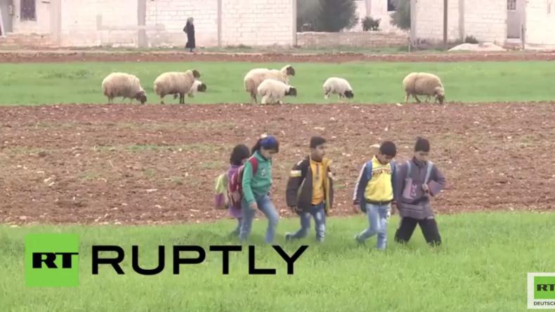 Befreite Gebiete in Syrien: Hier ist wieder ein normales Leben möglich