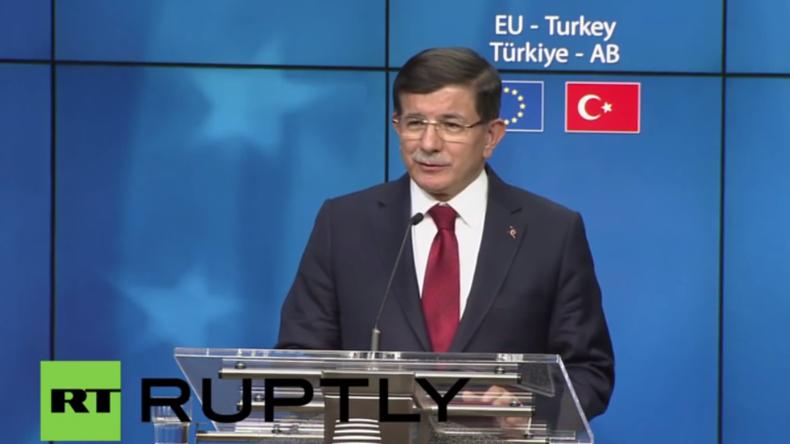 Live: EU-Türkei-Gipfel zur Flüchtlingskrise – Pressekonferenz von Martin Schulz