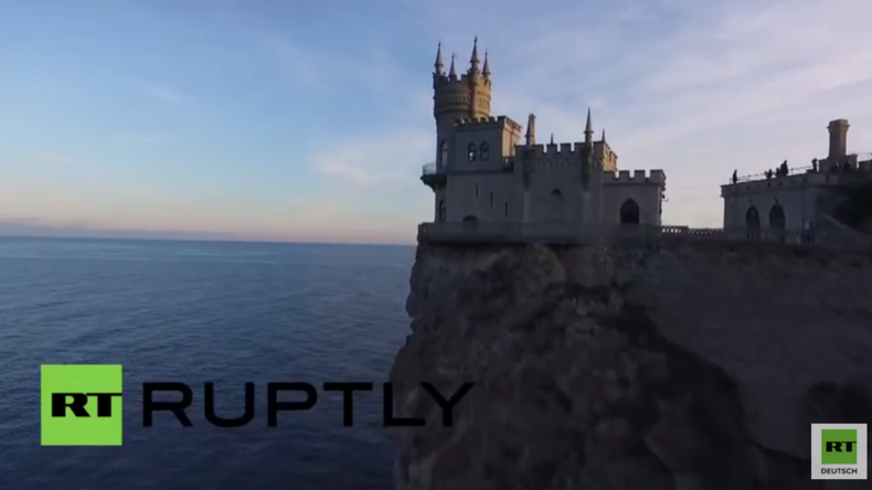 So wunderschön ist die Krim – Drohne fängt die spektakulärsten Sehenswürdigkeiten ein