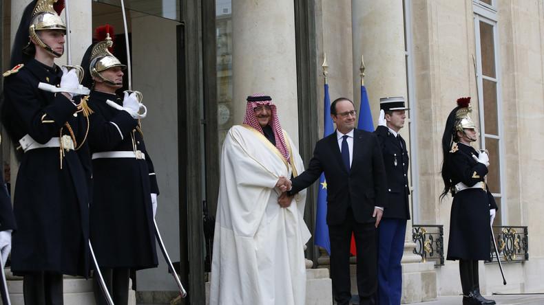 """""""Für Verdienste im Kampf gegen Extremismus"""" – Frankreich verleiht Saudi-Kronprinz die Ehrenlegion"""