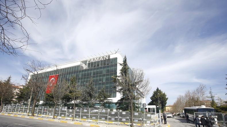 Türkei: 1. Ausgabe nach Enteignung von Zaman - Lachender Erdogan und Erfolgsmeldungen auf Titelseite