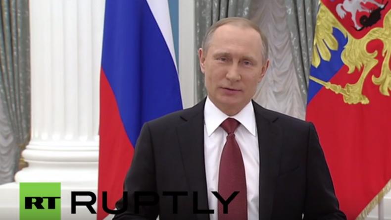 Russland: Hommage an die Frauen - Putins Ansprache zum Internationalen Frauentag