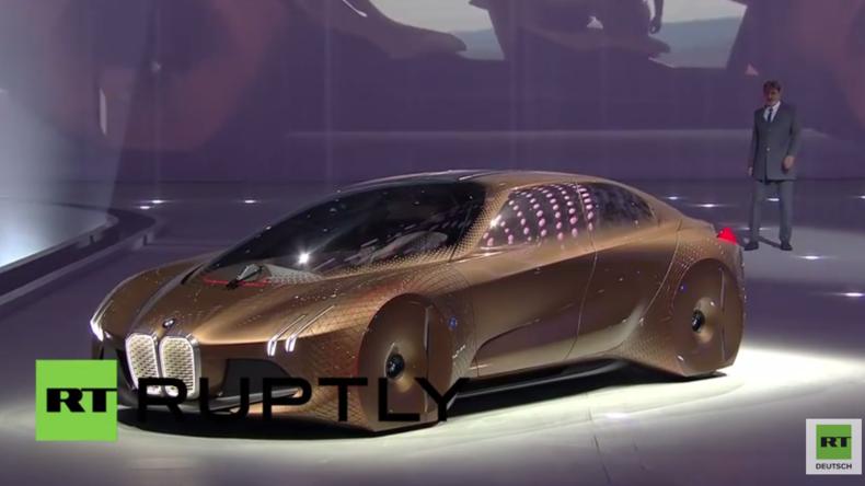 München: BMW enthüllt faszinierendes Zukunftsmodell zum 100. Jubiläum