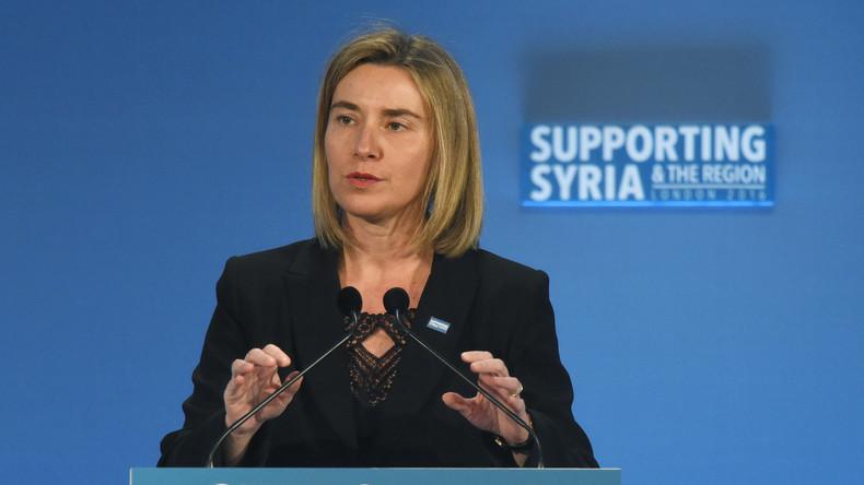 Live: Mogherini zur Syrienkrise bei Plenarsitzung im Europäischen Parlament - deutsche Übersetzung