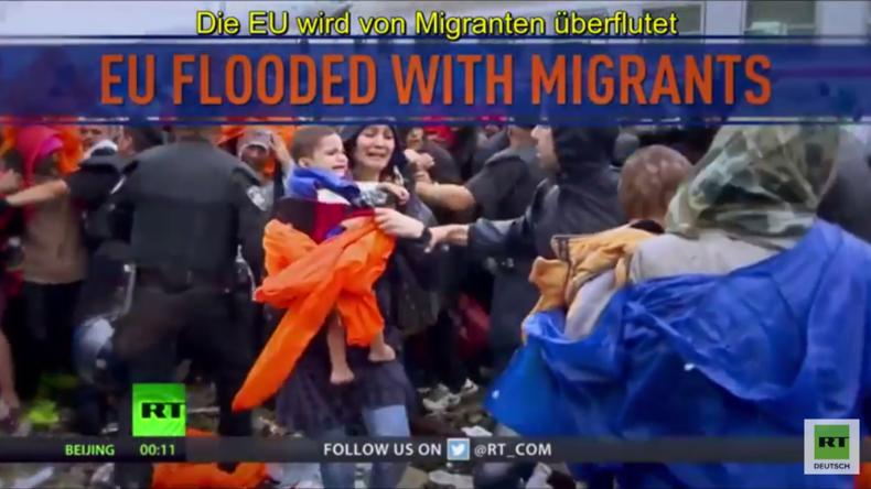 Wer errät es? Wer hat Schuld an der Flüchtlingskrise und nutzt sie, um Europa zu destabilisieren?