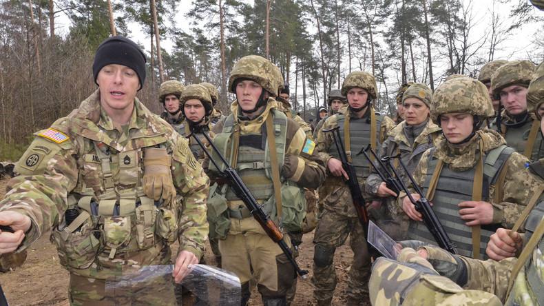 """US-Ausbildungsmission im """"Sicherheitszentrum"""" im ukrainischen Yavoriv"""