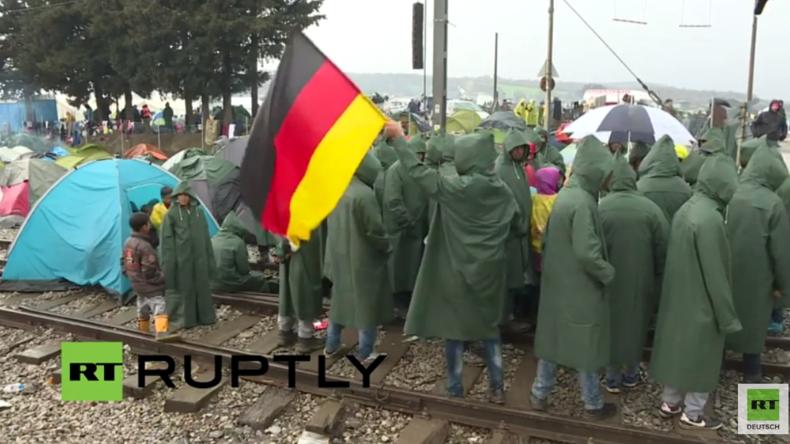 Live aus Idomeni: Rund 14.000 Flüchtlinge warten auf Grenzöffnung durch Mazedonien