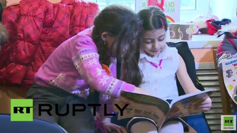 """Russland: """"Damit sie sich integrieren können"""" - Integrationskurse für syrische Flüchtlinge gestartet"""