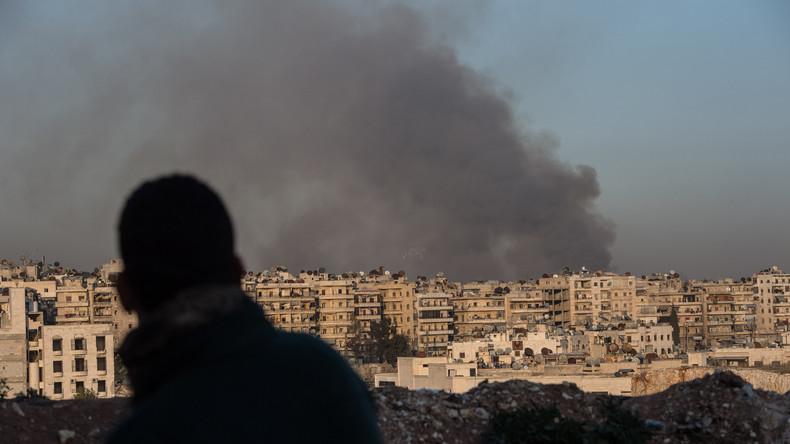 """Syrien: Angriffe mit Giftgas durch """"gemäßigte Islamisten"""" auf Aleppo"""