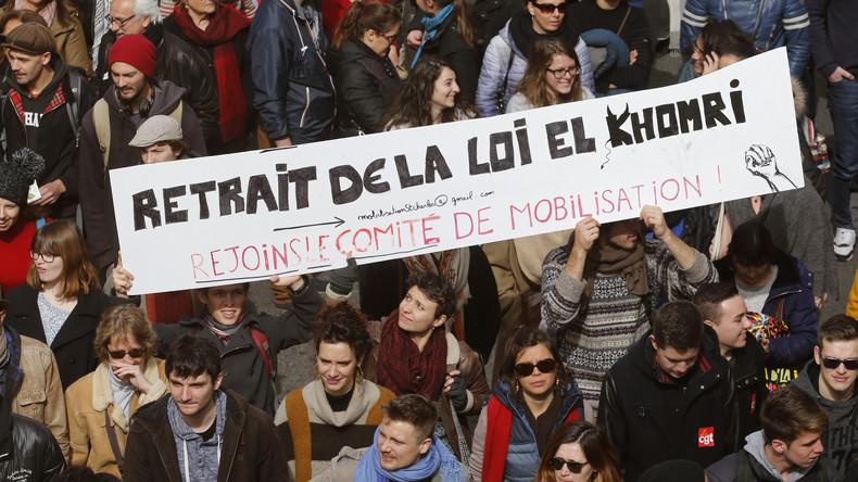 Frankreich: Streik- und Protestwelle gegen Arbeitsreform der Hollande-Regierung