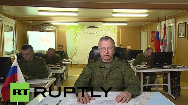 Syrien: Waffenruhe wird im Großen und Ganzen eingehalten – Russischer Militärsprecher