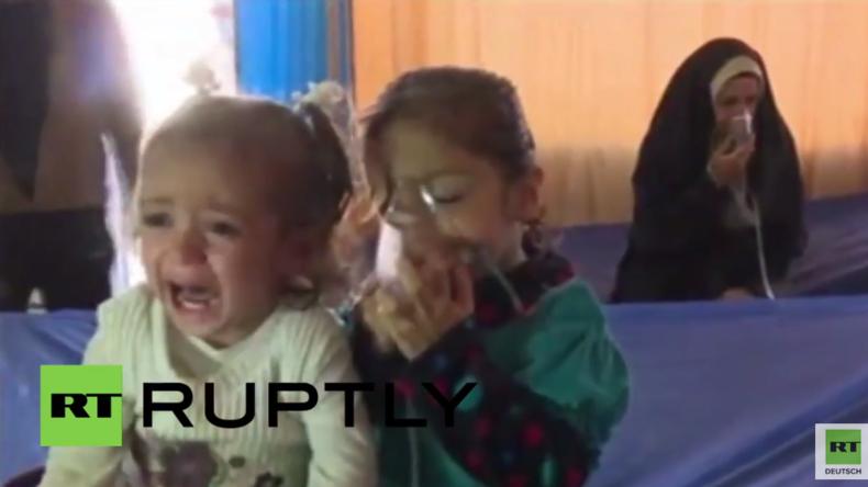 Irak: Mindestens ein Kind getötet nach mutmaßlichem Chemiewaffen-Angriff des IS