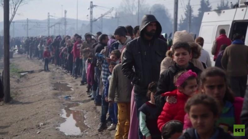Live aus dem Flüchtlingscamp in Idomeni an der griechisch-mazedonischen Grenze