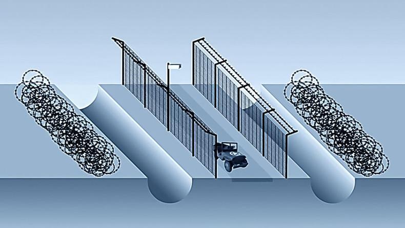 Ukrainische Militärs stehlen beim Mauerbau mehr als 270.000 US-Dollar
