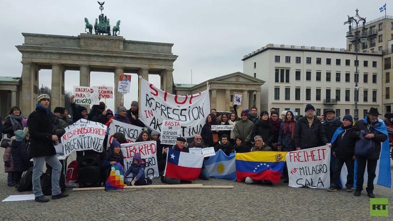 Protest gegen Repressionswelle in Argentinien weitet sich auf Deutschland aus