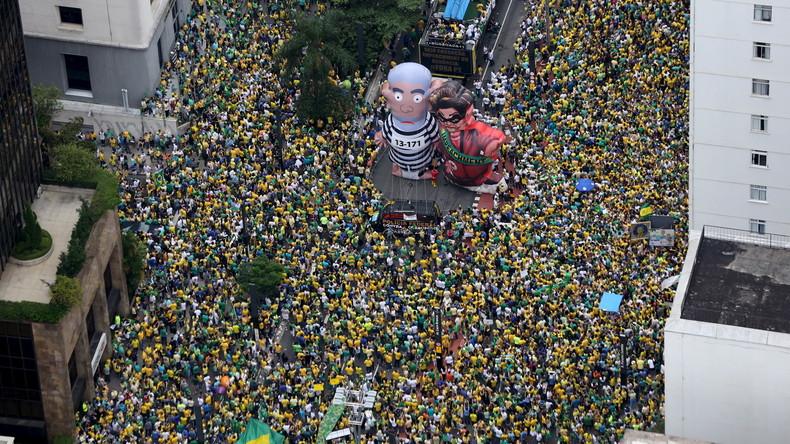 """""""Arabischer Frühling"""" auf brasilianisch: Justiz und Medien gegen Staatspräsidentin Rousseff"""