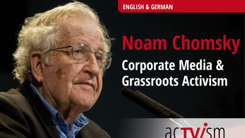 Noam Chomsky im acTVism-Interview: Mainstreammedien sind ein ideologisches Kampfinstrument