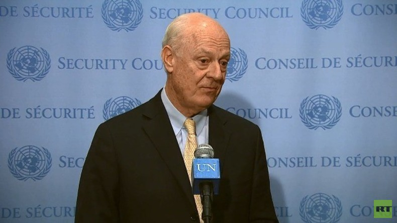 Live: Syrische Friedensgespräche - Mistura nach Treffen mit oppositionellem 'Verhandlungskomitee'