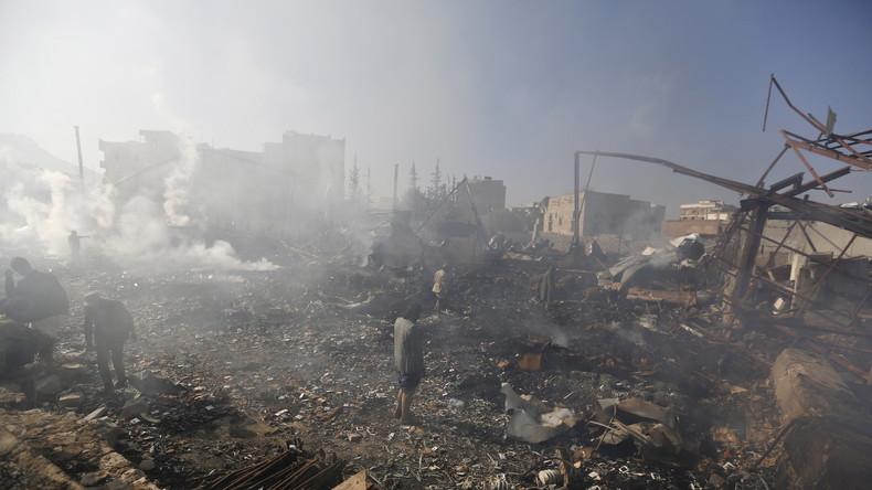 Update Mittwoch 11:40: Jemen: Zahl getöteter Zivilisten bei saudischem Luftangriff 107