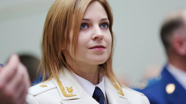 """Natalja Poklonskaja: """"Ich habe keine Angst davor, die Wahrheit zu sagen"""""""
