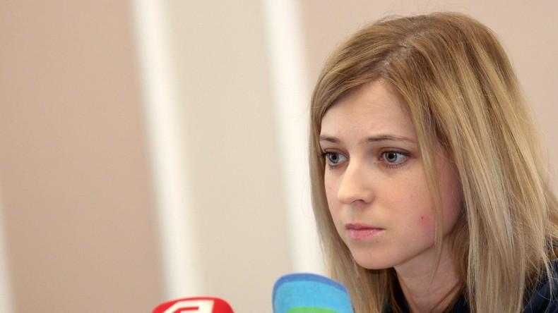 Die Generalstaatsanwältin der Republik Krim Natalja Poklonskaja