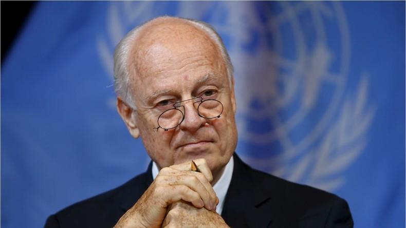 Live: Syrische Friedensgespräche - Mistura nach Treffen mit Moskau-Kairo Gruppe