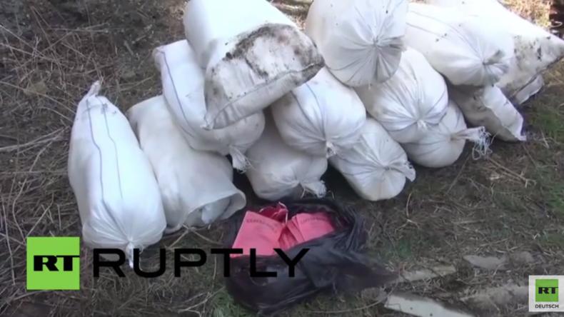Russland: IS-nahe Terror-Gruppe plante Anschlag – Eine Tonne Sprengstoff sichergestellt