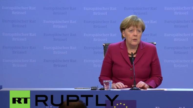 Live: Merkel gibt Pressekonferenz zu EU-Türkei-Gipfel