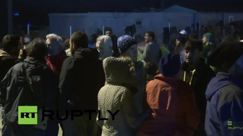 Live: Zerplatzte Hoffnung in Idomeni nach EU-Türkei-Gipfel - Kein Weiterkommen für Flüchtlinge