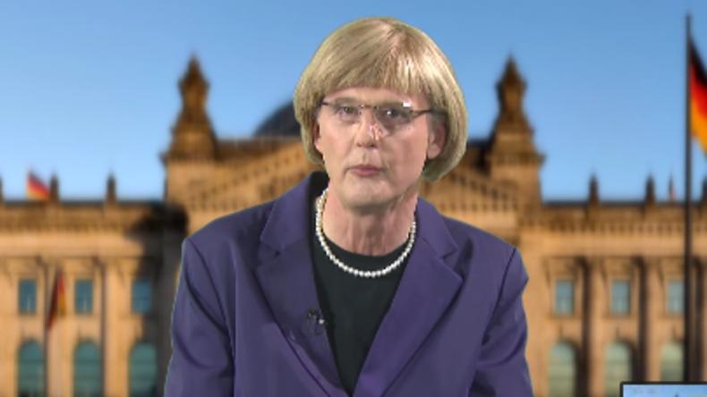 Die RT Deutsch-Satireecke: Angela Merkel - NATO-Opfer beleben Deutschland
