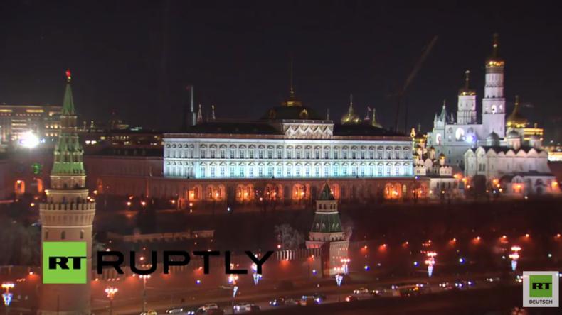"""Live: Internationale Umweltschutz-Aktion - Moskau macht für """"Earth Hour"""" seine Lichter aus"""