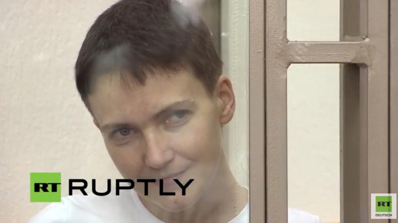 Live: Gericht in Südrussland verkündet Urteil für ukrainische Kampfpilotin Sawtschenko