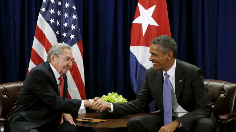 Live: Obama und Castro - gemeinsame Erklärung
