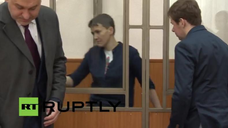 Live: Gericht im russischen Donezk verkündet Urteil für ukrainische Kampfpilotin Sawtschenko