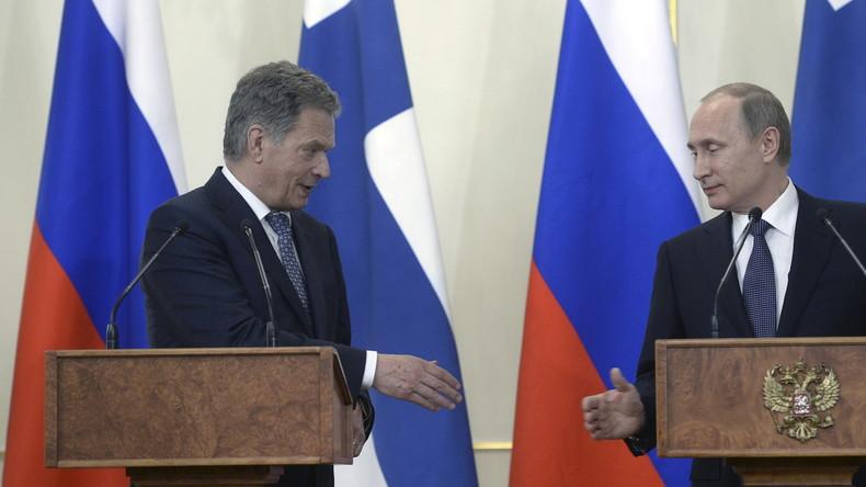 Live: Putin und Finnlands Präsident Sauli Niinisto geben gemeinsame Pressekonferenz