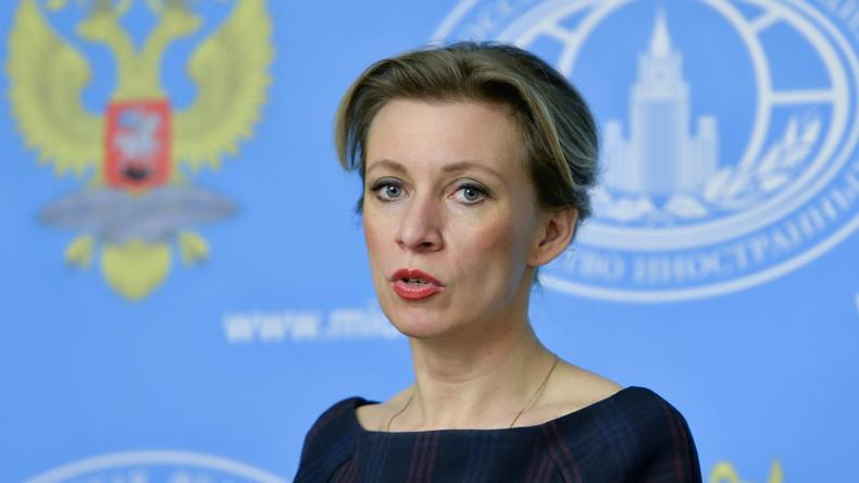 """Russisches Außenministerium: """"Der Politik der doppelten Standards ein Ende setzen"""""""