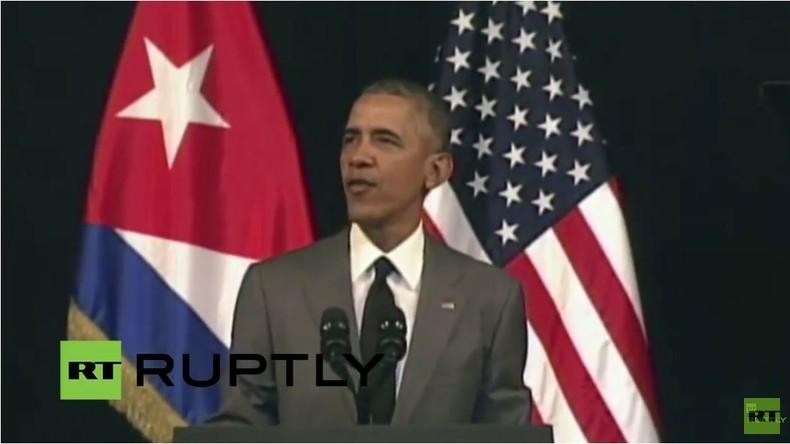 Live: Obama in Kuba - Rede an das kubanischen Volk in Havanna