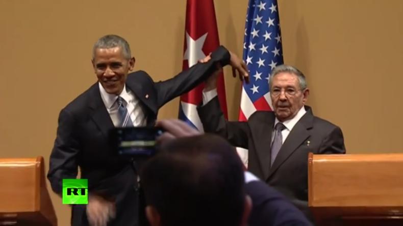 Keine Umarmung für Obama: Castro lässt US-Präsidenten in Havanna abblitzen