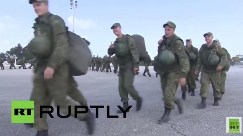 Syrien - Hmeimim-Stützpunkt: Russische Truppen ziehen weiterhin ab