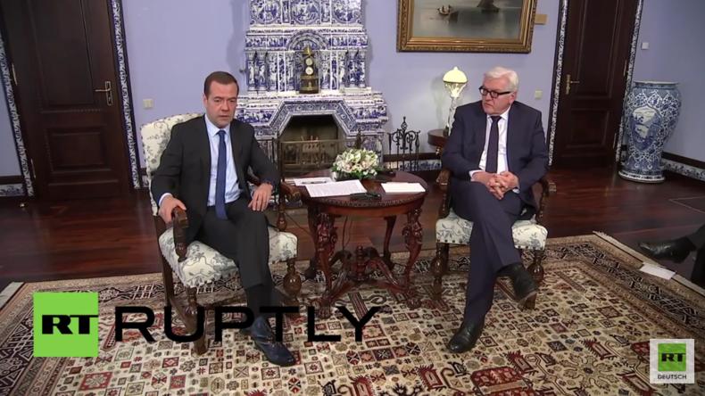 """Medwedew zu Brüssel: """"Ein barbarischer Terrorakt, der zeigt, wie verwundbar Europa geworden ist"""""""