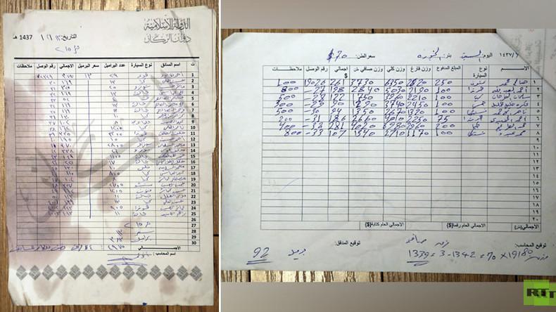 Profesionelle Buchhaltung: Jedes verkaufte Barrel Öl wurde vom IS sorgsam protokolliert