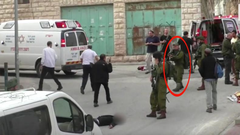 """Entsetzliches Video: Israelischer Soldat richtet """"palästinensischen Angreifer"""" hin"""