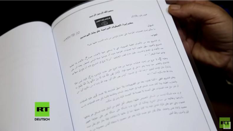 """Reisebusse von Mossul über Raqqa in die Türkei und """"Gerichtsdokumente"""" des Islamischen Staates"""