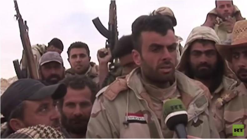 Syrien: EXKLUSIVE Bilder der Syrischen Armee bei Befreiung Palmyras