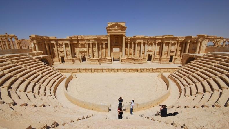 Syrien: Putin gratuliert syrischem Präsidenten für Befreiung von Palmyra