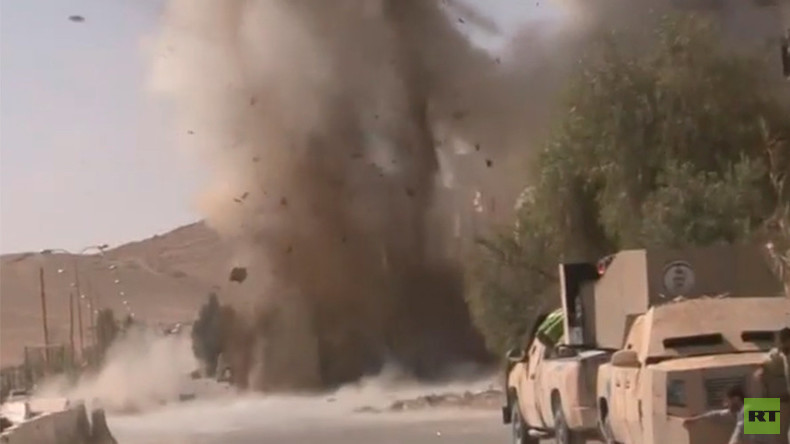 RT Spezial über Palmyra nach der Befreiung: Überall vermintes Gelände