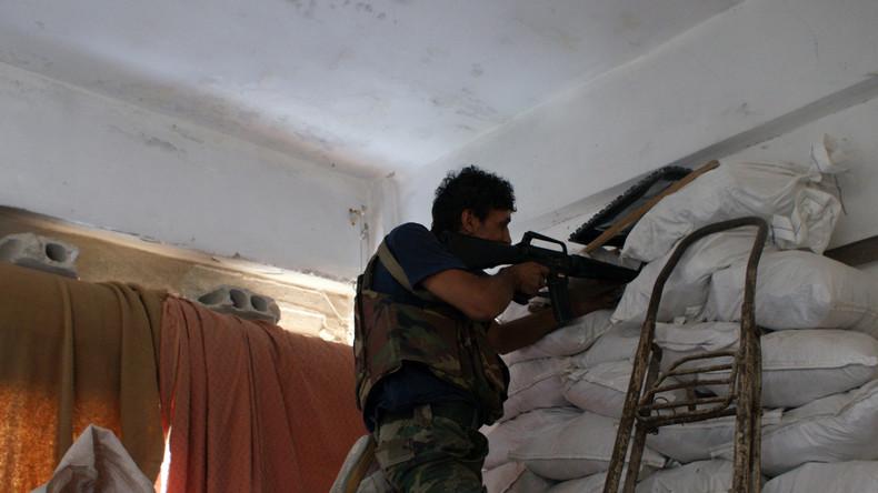 Absurde Vorgänge in Syrien: CIA-Agenten liefern sich Gefechte mit Pentagon-Rebellen