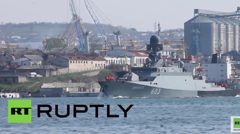 """Russland: Korvette """"Serpuchow"""" verlässt Sewastopol und macht sich auf den Weg nach Syrien"""