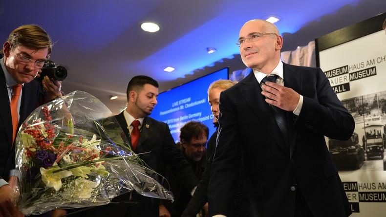 Russlands Generalstaatsanwaltschaft legt Interpol zusätzliche Unterlagen im Fall Chodorkowski vor