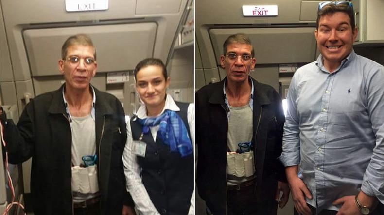 Entführte EgyptAir-Maschine: Passagiere und Crew amüsieren sich mit Geiselnehmer